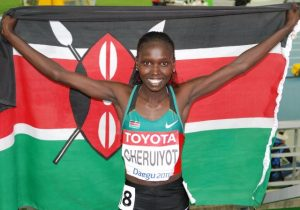 Vivian Cheruiyot, Kenya, Sports Category Nominee