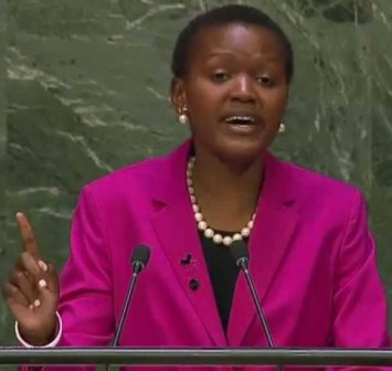 Vivian Onano won the New African Woman on the Rise (The Next Generation) for her role as girls rights activist and UN Women youth advisor.