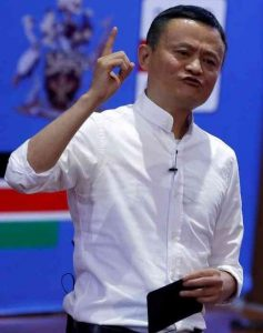 Alibaba founder and chairman Jack Ma talks to young entrepreneurs and students at the University of Nairobi in the Kenyan capital on July 20, 2017.