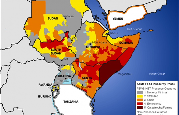Failed Rainy Season Leads to Food Insecurity in East Africa