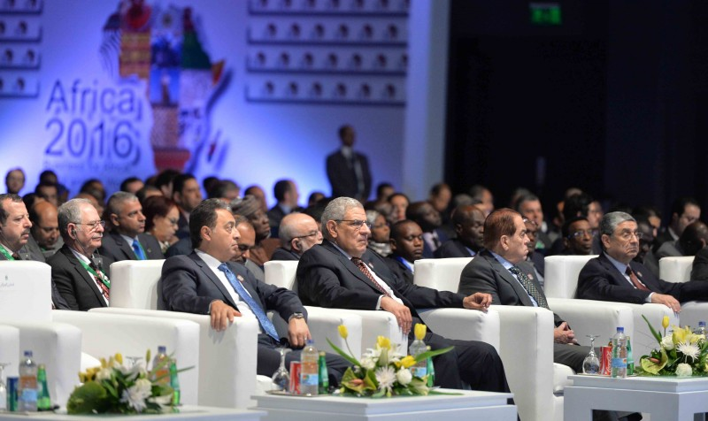 Africa's heads of state and captains of business meet in Egypt's tourism mecca, Sharm El Sheikh, for Africa 2016 forum to discuss and collaborate on African trade and investment