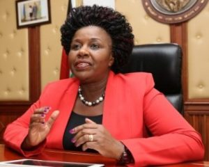 Joyce Cherono Laboso has been elected Governor for Bomet County in Kenya's Rift Valley region.