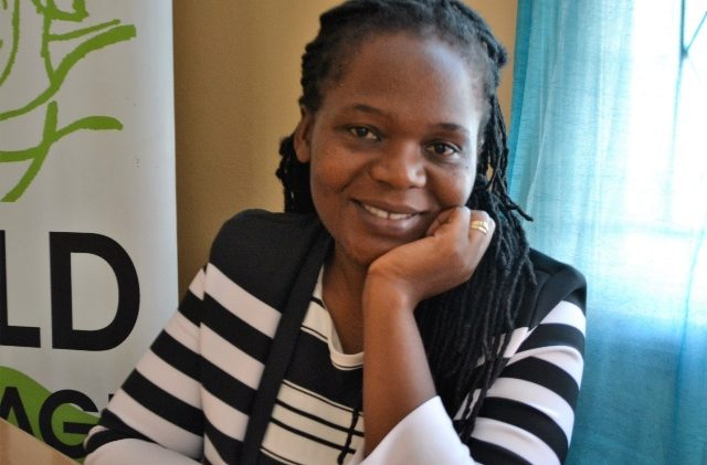 Zimbabwe's Talent Jumo who supports victims of revenge porn, giving them counselling and legal advice and fighting for sexual and reproductive health rights for women